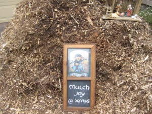 mulch joy at Christmas