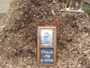 mulch joy at Christmas
