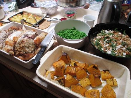 roast Christmas lunch