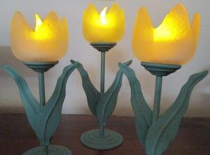 tulip candlesticks