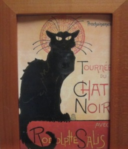 Toulouse-Lautrec's chat noir
